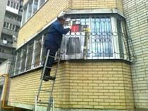 Раздвижные решетки в Омске