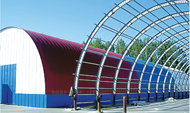 Быстровозводимые металлоконструкции в Омске