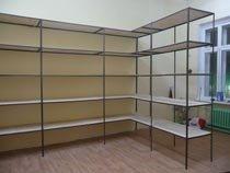 Изготовление, монтаж металлические стеллажи в Омске и пригороде